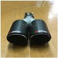 Многоразовый двойной Akrapovic выхлопной наконечник трубы глушителя для Mercedes Nissan Jaguar Volkswagen VW Volvo Infiniti аксессуары