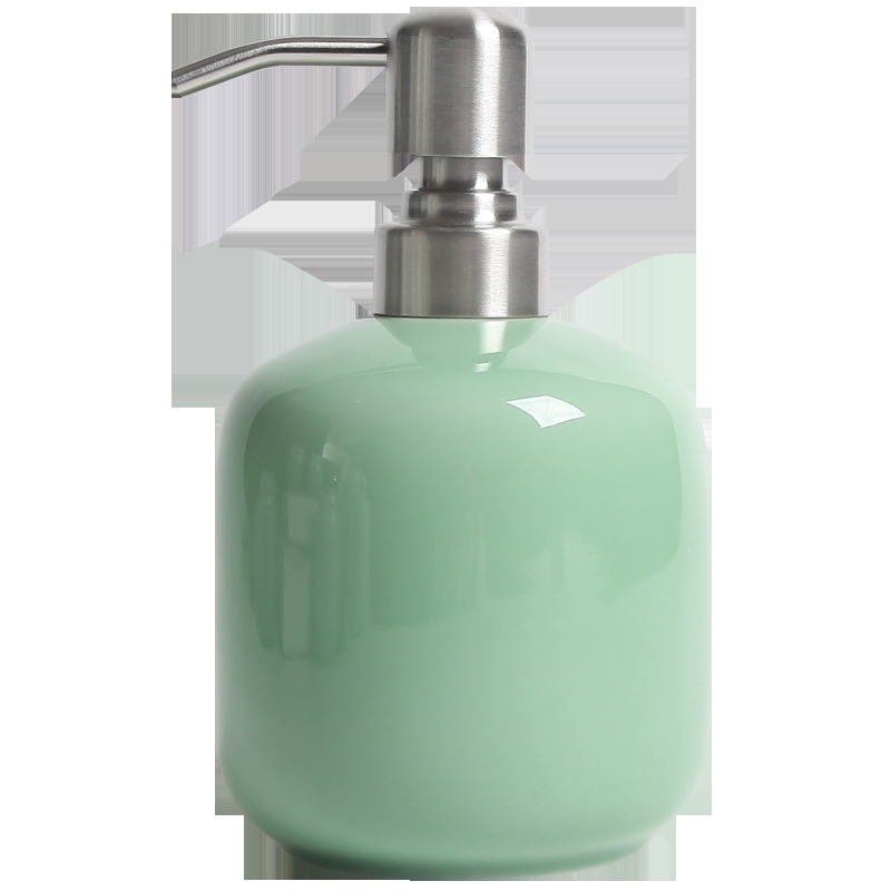 ITAS5527 Reseda keramische hand zeepdispenser luxe lotion shampoo gel fles schoonheidssalon kapper eetkamer