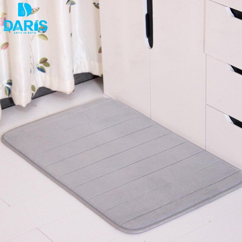 pelle scamosciata tappeti bagno mat silicone igienici pavimento zerbini tappetino da bagno memory foam kicthen set