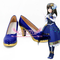 THE IDOLM@STER CINDERELLA MASTER We're the friends! Sagisawa Fumika Shoes Cosplay Boots CosplayLove