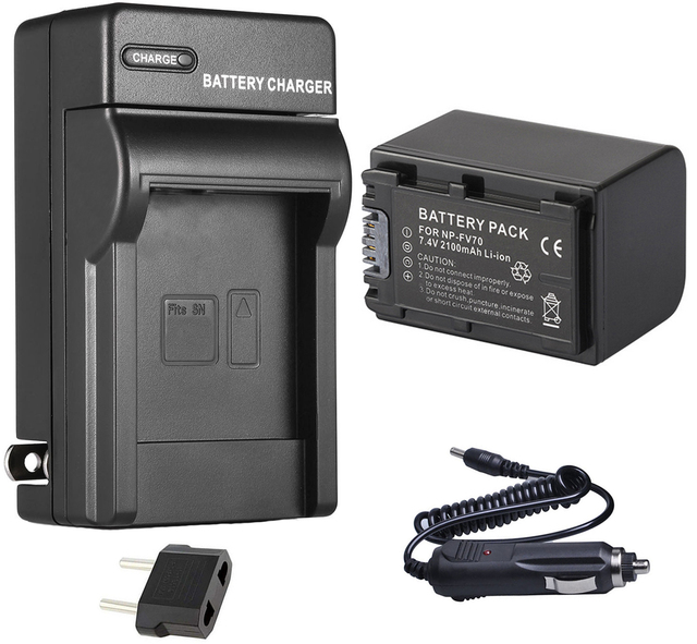 HDR-PJ20 HDR-PJ50V Handycam Camcorder HDR-PJ40V HDR-PJ30V Micro USB Battery Charger for Sony HDR-PJ10