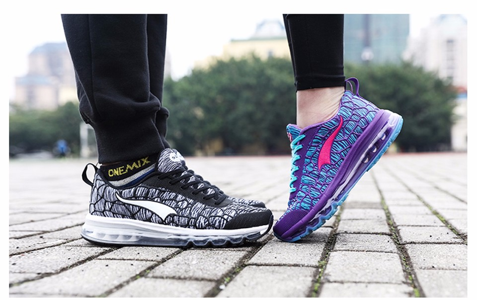 Onemix Brand 16 New Sports Running Shoes Sneakers for Men and Women Outdoor Walking and Running Breathable Good Quality 22