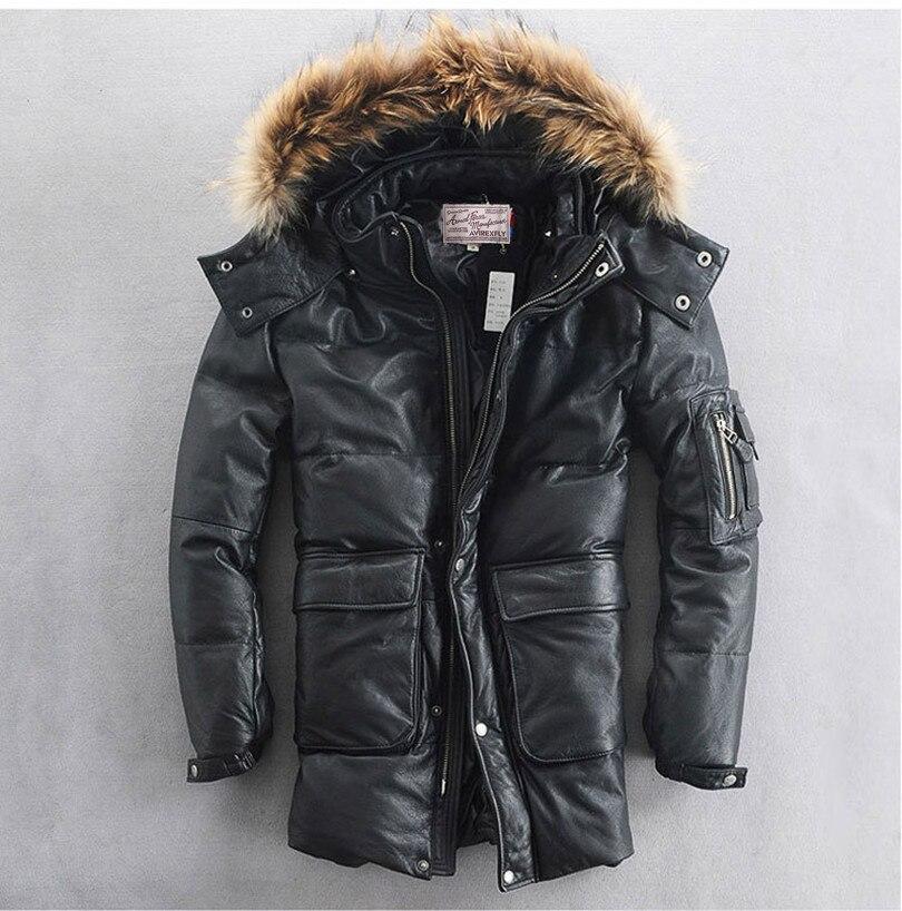 Pieles de animales con capucha chaqueta de cuero de los