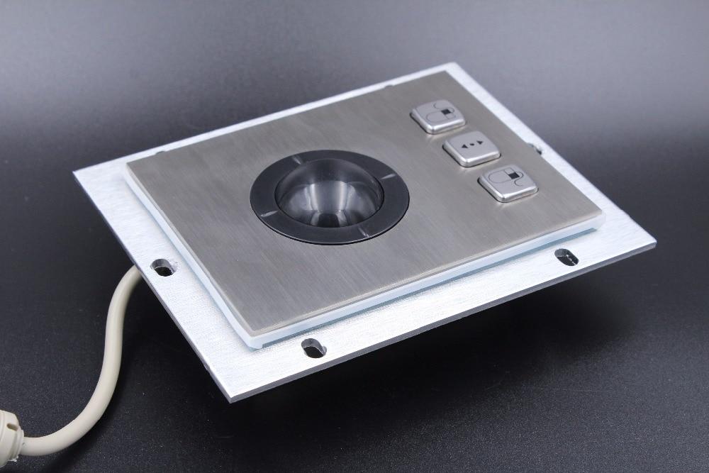 Trackball de metal con material de acero inoxidable de alta calidad y - Periféricos de la computadora - foto 2