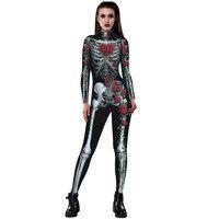 Rose Squelette 3D impression Respirant Vêtements De Nuit Lingerie Babydoll 2018 Bas de Corps Intime bébé poupée robe Combinaison De Nuit