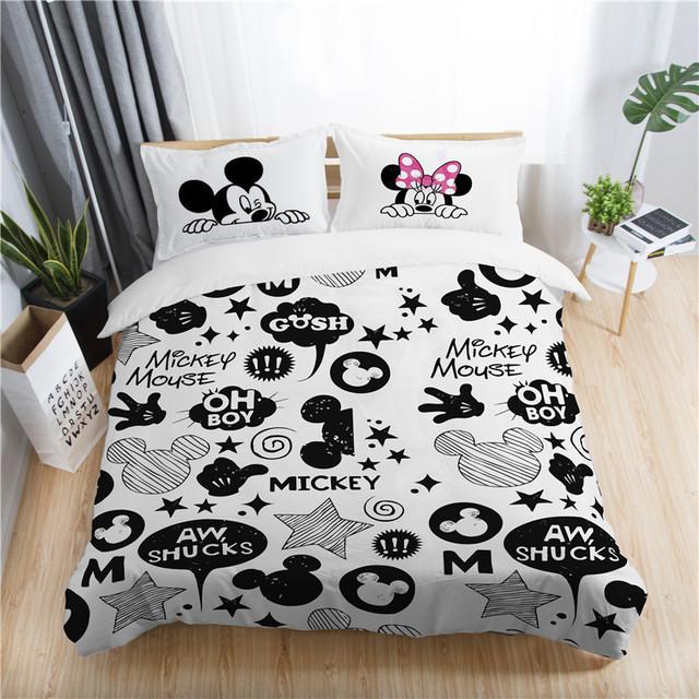 Mickey and Minnie Bedding Set