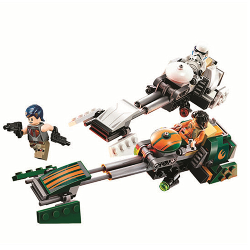 2016 Star Wars Rebels Ezra's Speeder Bike Building Block Toys For Children Brick Baby Gift