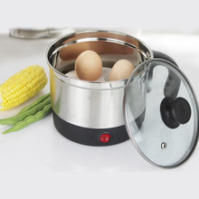 VOSOCO Multifunctional mini electric 1.6L 600W 220V pot of small power small electric heating cup plug electric cooking Hot pot