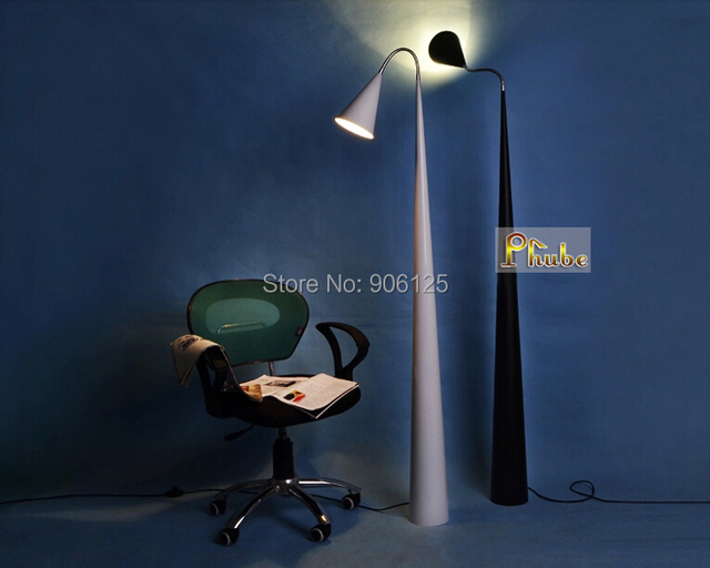 Nordic Modern Floor lamp Lily Floor lamp Used in Bedroom Living Room Office Study Room + Free Shipping!