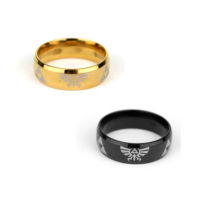 2 Color Hot Sale Cosplay Game Jewelry LEGEND of ZELDA Ring Shiny