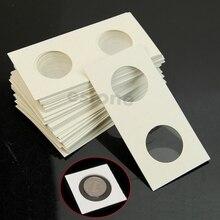 """50x Марка Маяк держатели монет Чехол для хранения бумажные наклейки для фотоальбомов рамка украшения Скрапбукинг 2X"""" Флип"""