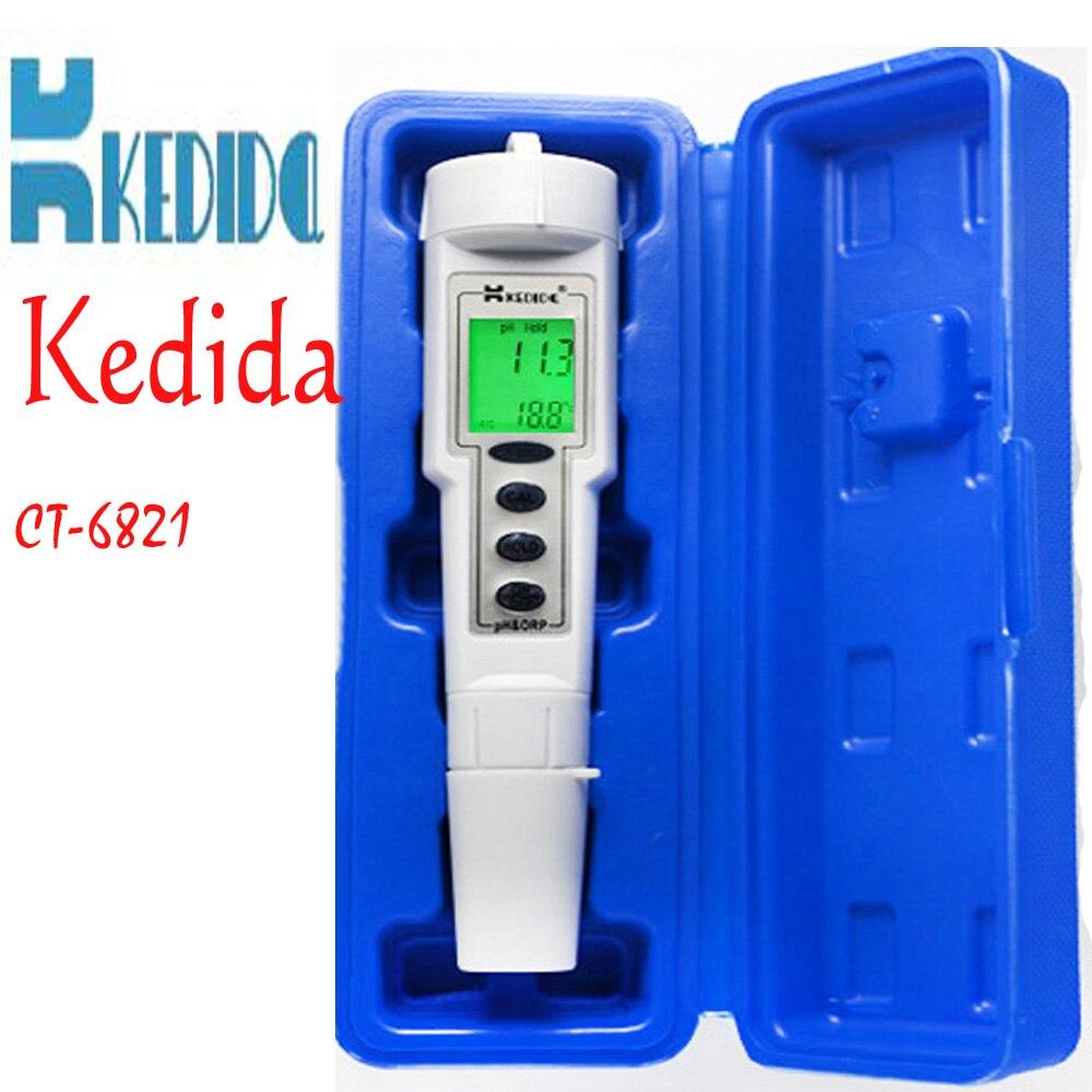 ФОТО ph meter digital water orp ph tester ph Pen test Waterproof ORP/PH 2 in1 Meter for aquarium swimming pool Solids