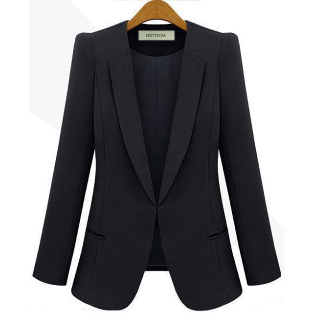 Womens Fitted Blazer
