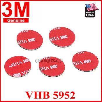 5 uds 3M VHB 5952 Dia = 30mm ronda de alta resistencia cinta adhesiva de espuma acrílica de doble cara buena para videocámara DVR para coche soporte de apoyo