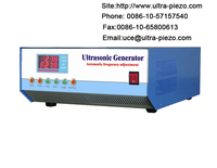 200 KHZ/600 Watt ultraschallreinigung Generator  Einstellbarer frequenz  einstellbare power|Ultraschall-Reiniger-Teile|Haushaltsgeräte -