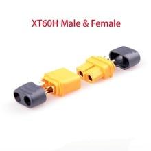 Wholesale 10 Pairs Amass XT60 XT60U XT60H Male Female Bullet Connectors Plugs For RC Lipo Battery FPV Quadcopter kit Drone parts