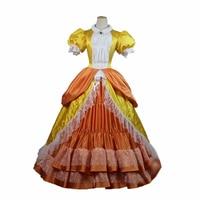 Top Quality Super Mario Princess Daisy Peach Sister Dress Cosplay Costume For Adult Women Halloween Costume Dress Custom Made