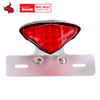 Motorcycle Taillights LED Anti Collision Laser Taillight Brake Lamps Warning Motorcycle Tail Light Led Motorcycle Light