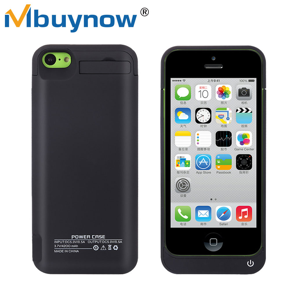 sneakers for cheap b14bb 23af2 US $13.74 |4200mAh External Battery Charger Case for iPhone 5S Rechargeable  Powerbank Backup Battery Case Cover Charging for iPhone 5 5C SE-in Battery  ...