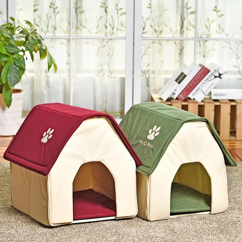 Aliexpress.com : Buy Pet House Foldable Lovely Dog House ...