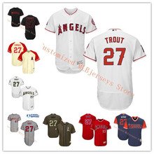 MLB Men s Los Angeles Mike Trout Navy 2017