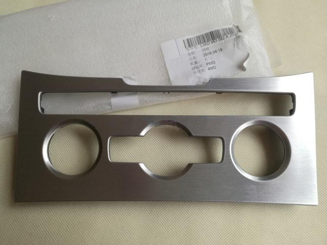 Saborway Brushed aluminum Climatronic Air Condition Control Panel for Passat B7 CC 3AD863082A 3AD 863 082