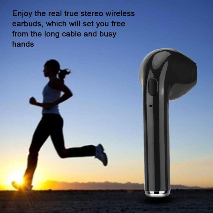 i7s i7r i7 TWS Mini Wireless Bluetooth Earphone Stereo Earbud Headset Mini Earphone Hands-free with Mic For phone fone de ouvido