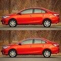 16 шт.  полностью оконные стойки  оконное формование порогов  отделка  точно подходящая для Toyota Vios 2013-2014
