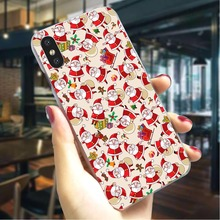 Christmas New Year Hard Cover for iPhone 6 Hybrid Phone Case for iPhone 6S 6 Plus 6S Plus 7 7 Plus 8 8 Plus Cases Skin motomo brushed aluminum middle skin hard pc cover for iphone 6s plus 6 plus gold