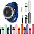 12 Styles Excellent Quality Watchband For Garmin Fenix 3 Soft Silicone Bracelet Strap Replacement Watch Band Wristband With Tool