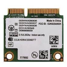 2,4G y 5G tarjeta de red de doble banda Mini PCI-E WIFI tarjeta inalámbrica para Intel 6250 WiMax para tarjetas de red Asus Toshiba DELL(China)