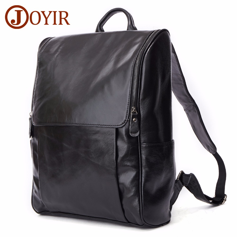 JOYIR Genuine Leather Men Backpack Man Cowhide Leather Causal Backpack Vintage Travel Bags For Men Male Bag 8856 2018 Fashion JOYIR Genuine Leather Men Backpack Man Cowhide Leather Causal Backpack Vintage Travel Bags For Men Male Bag 8856 2018 Fashion