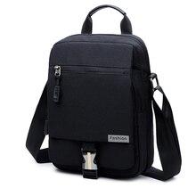 New leisure sports mens single shoulder slanting multi-function fashion Oxford chest bag portable handbag