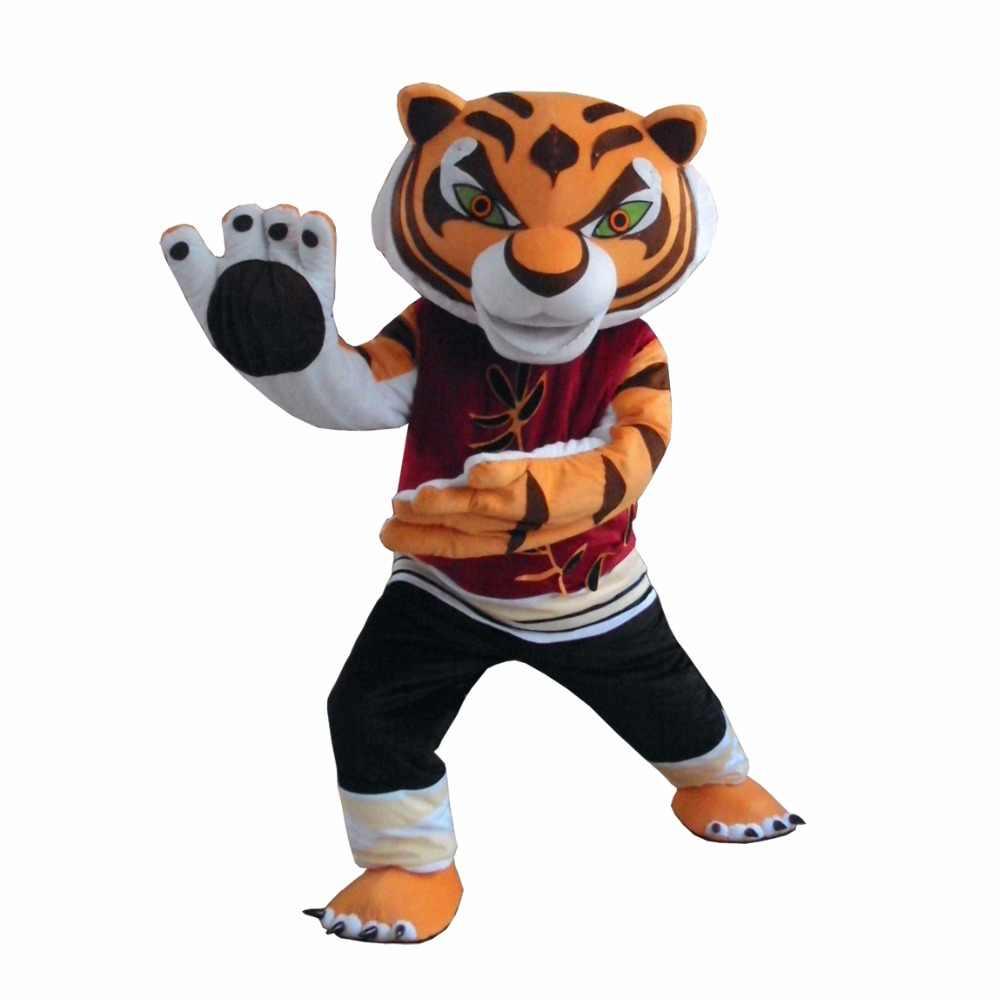 Тигрица Тигр Кунг-фу Панда другу Crtoon Маскоты взрослый костюм продаж 1ef39b5e22691