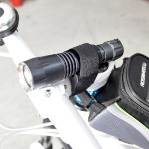 Крепление для велосипедного фонарика, светодиодный зажим для горного велосипеда, универсальный держатель