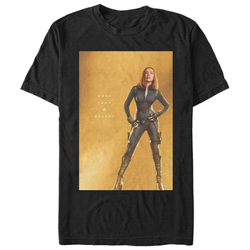 Men's 10 Years Anniversary Black Widow T Shirt Summer Birthday Gift T-Shirt Brand Fitness Body Building