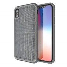 מקרה טלפון עבור iPhone XS X הגנה צבאי כיתה זרוק נבדק אלומיניום Case כיסוי עבור iPhone X כיסוי קאפה