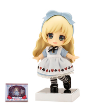 XINDUPLAN Alice in Wonderland Rabbit Ears Nendoroid Real Clothes Cute Anime Action Figure Toys 10cm PVC Collection Model 0994