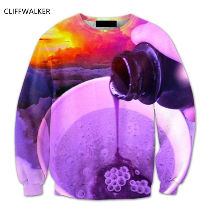66c9091ef022 Dropshipping Arrival Bottle Water Falling Sunset 3D Hoodies For Women Men s  Hip Hop Sweatshirt Sportswear Harajuku Pullover Hot