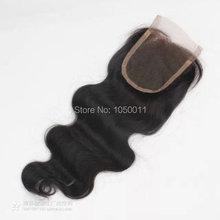 7A remy Hair  4×4 Lace Closure Brazilian Hair BW Human remy Hair Closure Unprocessed Top Closure Middle Part
