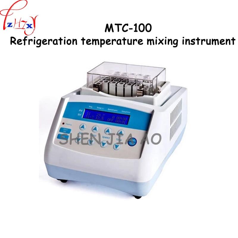 1 шт. 220 В 200 Вт 220 В 200 Вт MTC 100 температура охлаждения смешивания инструмент лабораторное оборудование