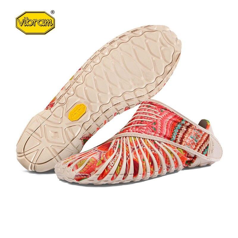 2019 Vibram cinq doigts Super léger chaussures de course Bat chaussures enveloppé dans des chaussures en tissu pour hommes femmes chaussures de Sport en plein air - 6