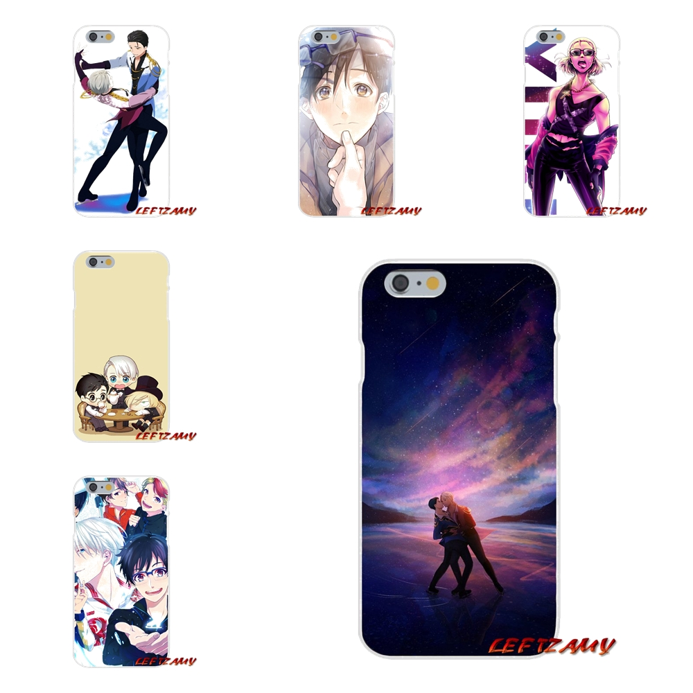 For Xiaomi Redmi 3 3S 4A 5A Pro Mi4 Mi4C Mi5S Mi6X Mi Max2 Note 3 4 5A Yuri on Ice Anime Accessories Phone Shell Covers