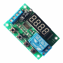 цена на DC5/12/24V voltage detection relay switch board / charge and discharge detection control module / upper and lower limit alarm
