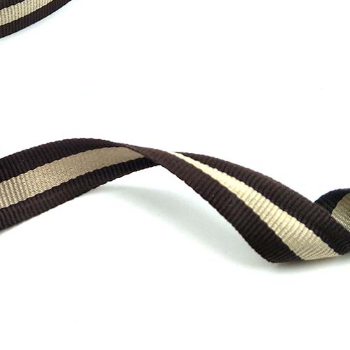 10mm 15mm 20mm wide Coffee Khaki Cotton Polyester Webbing Tape Bag Straps Belt Sling Seat belt webbing Strong handle deco in Ribbons from Home Garden