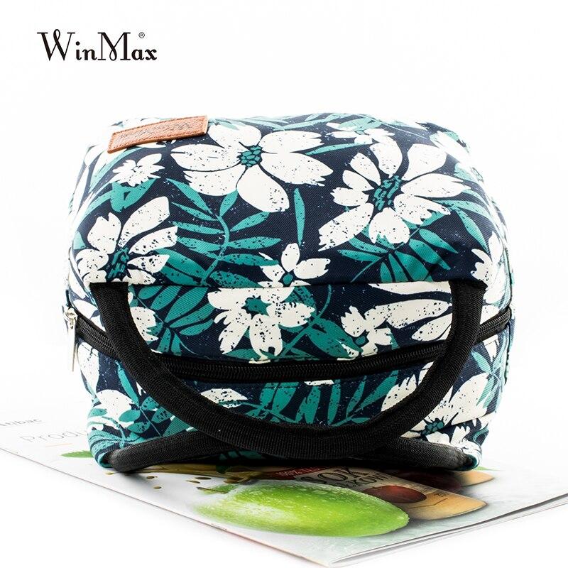 Winmax nouveau Style Portable isolation sacs à déjeuner nourriture thermique frais pique-nique fourre-tout Icepack femmes enfants hommes refroidisseur boîte à déjeuner sac - 4