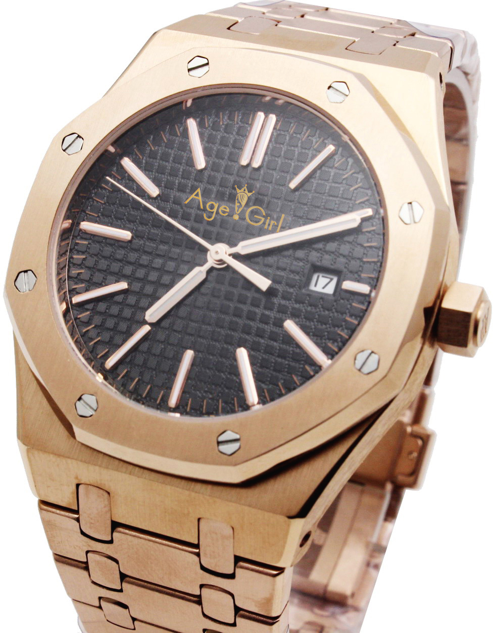 Luxury Brand New Men Watch Stainless Steel Rose Gold Silver Black Blue Automatic Mechanical Sapphire Glass Back See Through AAA+Luxury Brand New Men Watch Stainless Steel Rose Gold Silver Black Blue Automatic Mechanical Sapphire Glass Back See Through AAA+