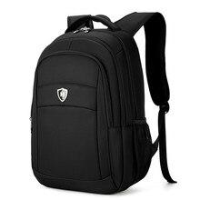 Boshikang мужчин и женщин ноутбук рюкзак 15.6 дюймов Рюкзак мешок школы Водонепроницаемый рюкзак мужчин ноутбук Сумка Черный