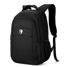 Boshikang Men& Women Laptop Backpack 15.6Inch Rucksack SchooL Bag Travel Waterproof Backpack Men Notebook Computer Bag Black