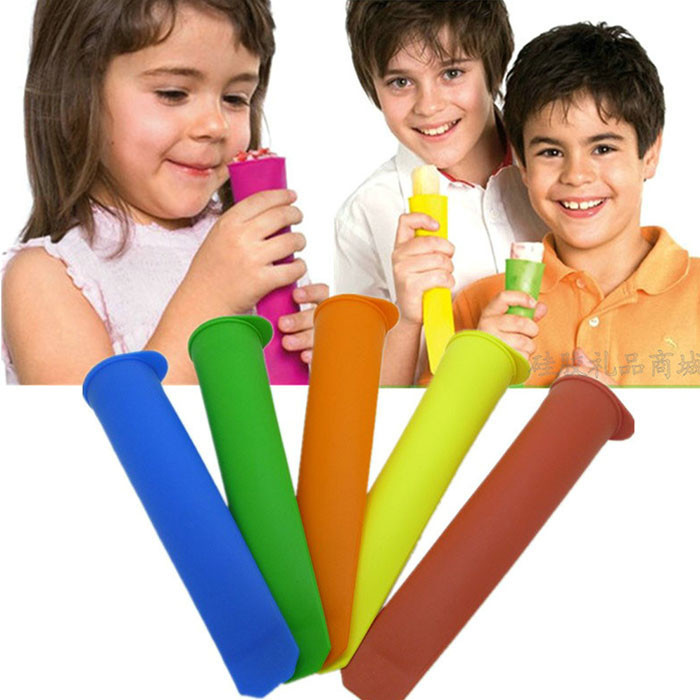 1000pcs/lot 2015 Hot Silicone Popsicle Mold / Ice Pop Molds / Ice Cube Tray / Ice Cream Tubs Tools
